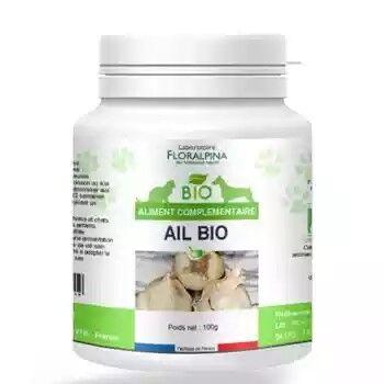 Laboratoire Floralpina Ail bio 100g pour chien et chat