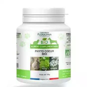 Laboratoire Floralpina PhytoCoeur Bio 100g pour chien et chat