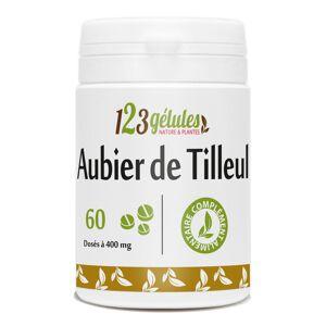 123gelules Aubier de Tilleul - 400 mg - 60 comprimés - Publicité