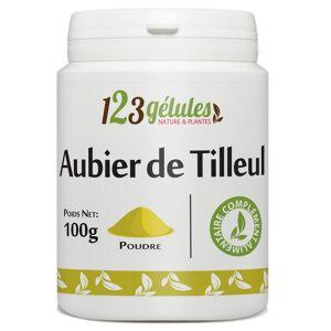 123gelules Aubier de Tilleul - Poudre 100 g - Publicité
