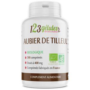 123gelules Aubier de Tilleul Bio - 400 mg - 300 comprimés - Publicité