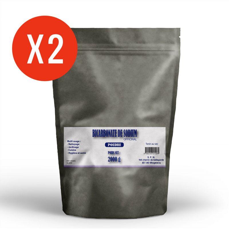SPN Bicarbonate de Sodium - poudre 2 x 2 kg