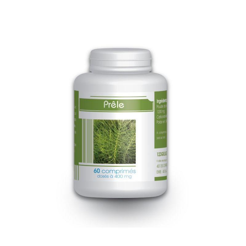 123gelules Prêle - 400 mg - 60 comprimés