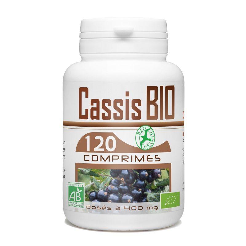 Bio Atlantic Cassis biologique - 400 mg - 120 Comprimés