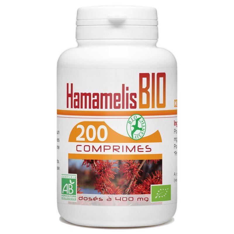 Bio Atlantic Hamamélis Bio - 400 mg - 200 comprimés