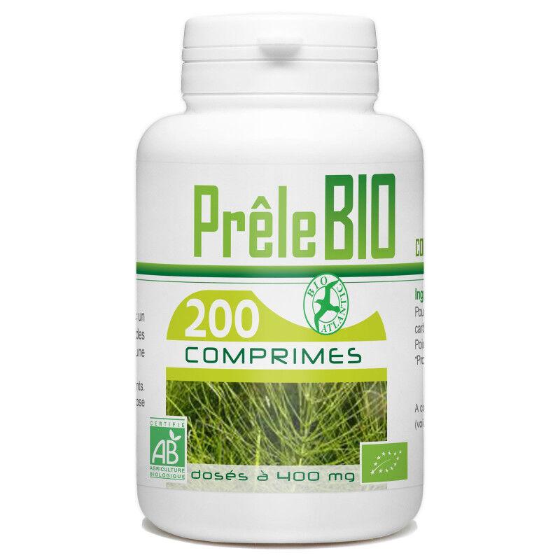 Bio Atlantic Prêle Biologique - 400 mg - 200 comprimés
