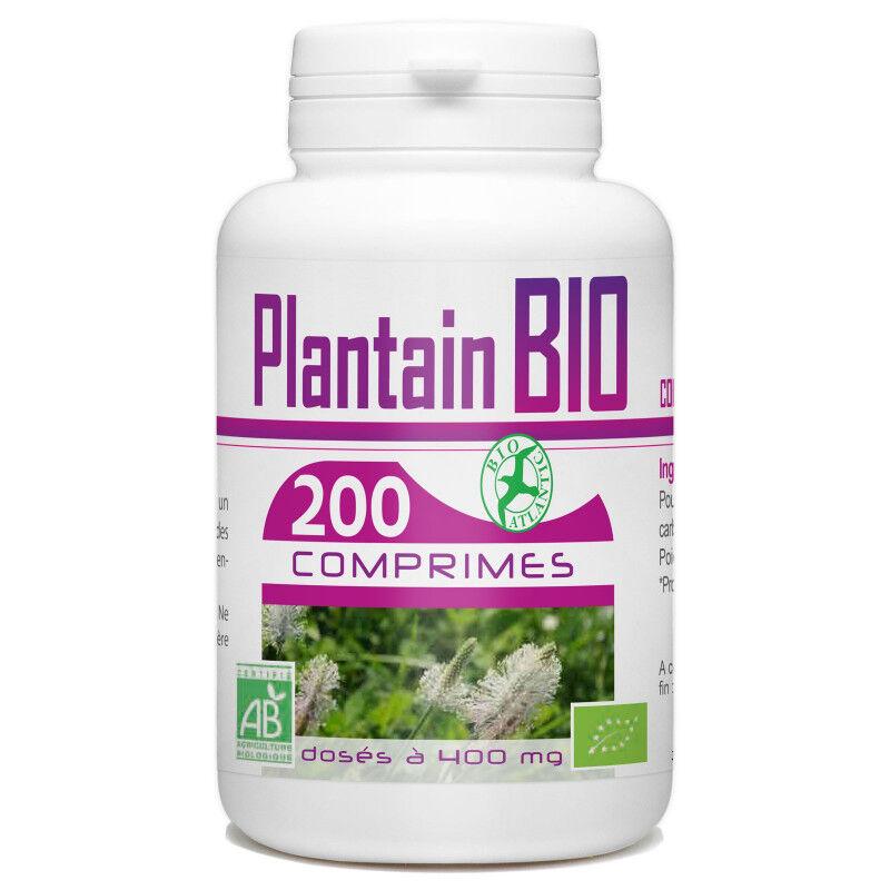 Bio Atlantic Plantain Bio - 400 mg - 200 comprimés
