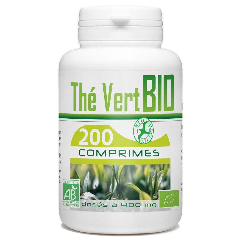 Bio Atlantic Thé Vert Bio - 400 mg - 200 comprimés