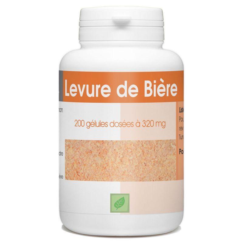 SPN Levure de Bière Revivifiable - 320 mg - 200 gélules