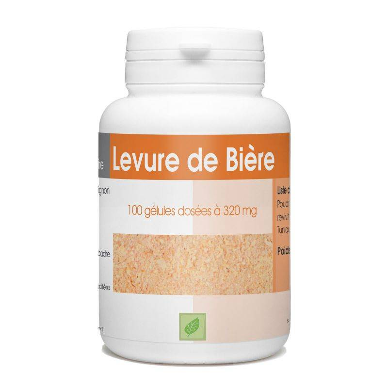 SPN Levure de Bière Revivifiable - 320 mg - 100 gélules