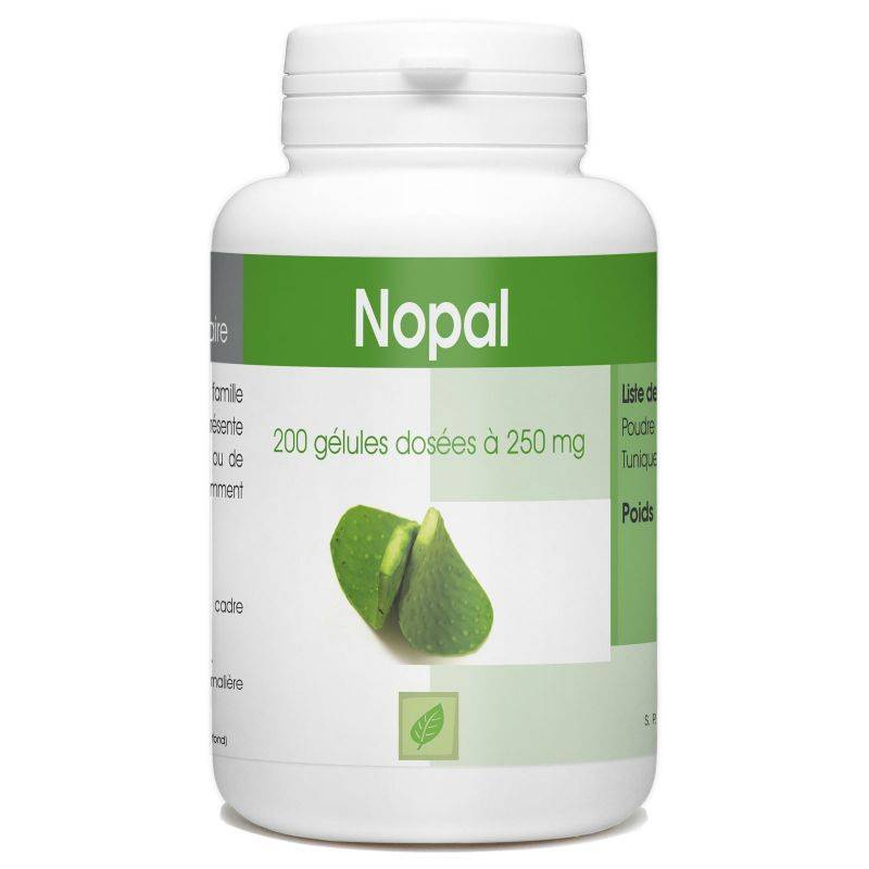 SPN Nopal - 250 mg - 200 gélules