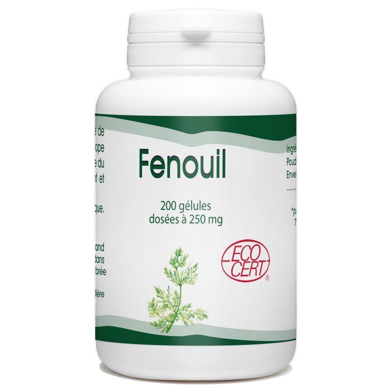 GPH Diffusion Fenouil Bio - 250 mg - 200 gélules