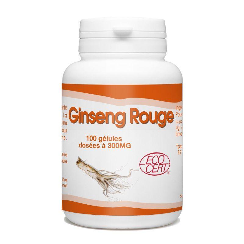 SPN Ginseng Rouge Bio - 300 mg - 100 gélules