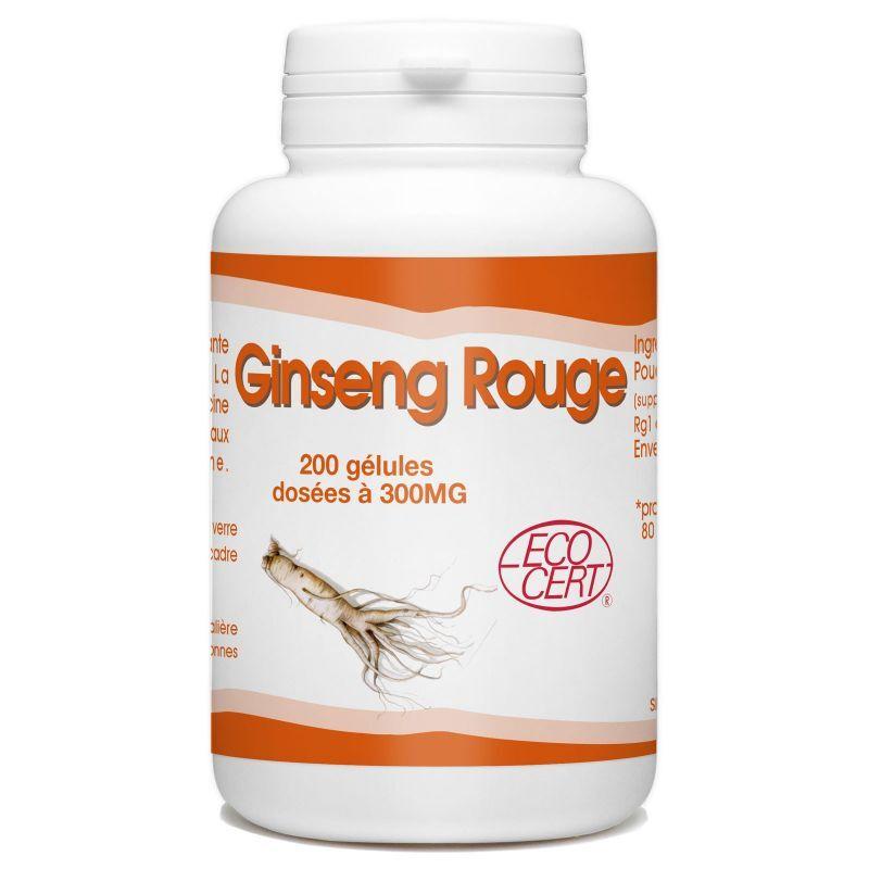 SPN Ginseng Rouge Bio - 300 mg -200 gélules