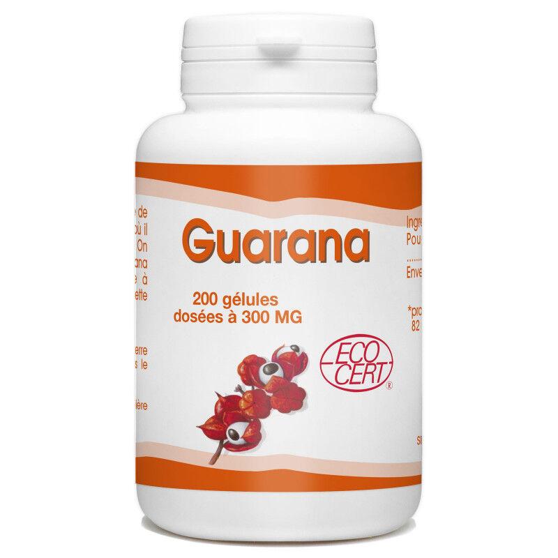 SPN Guarana Ecocert - 300 mg - 200 gélules
