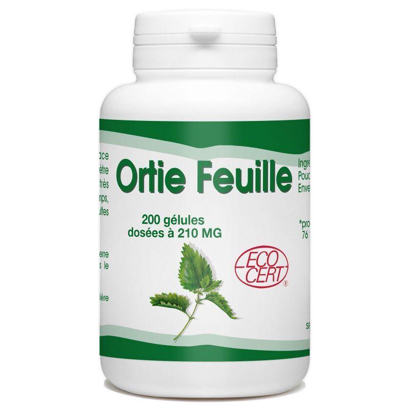 SPN Ortie Bio (Feuille) - 210 mg - 200 gélules
