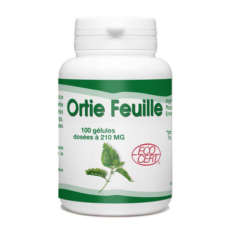 SPN Ortie (feuille) Ecocert - 210 mg - 100 gélules