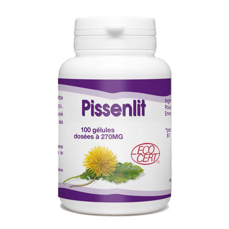SPN Pissenlit Racine Bio - 270 mg - 100 gélules