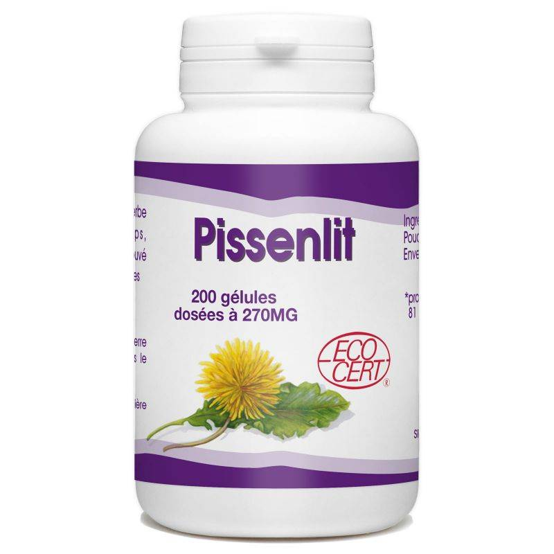 SPN Pissenlit Racine Bio - 270 mg - 200 gélules