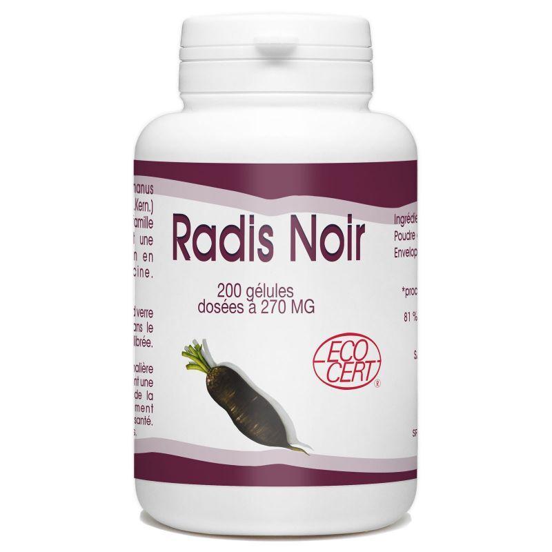 SPN Radis Noir Bio - 270 mg- 200 gélules
