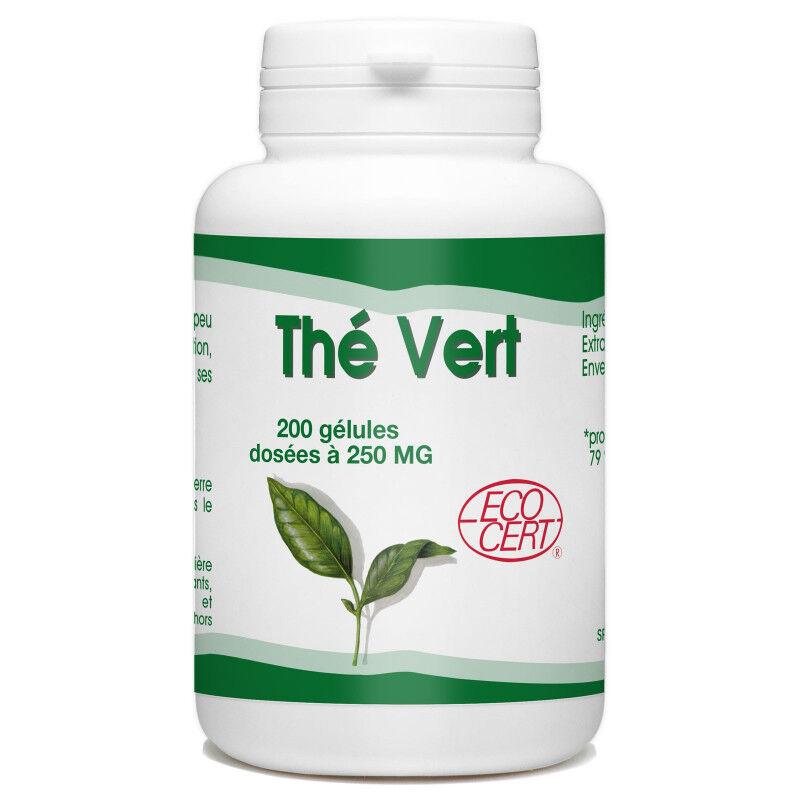 SPN Thé Vert Bio - 250 mg - 200 gélules