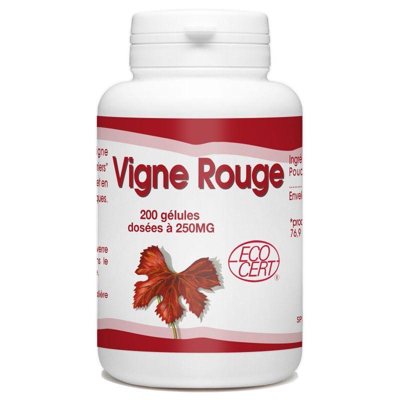 SPN Vigne Rouge Bio - 250 mg - 200 gélules