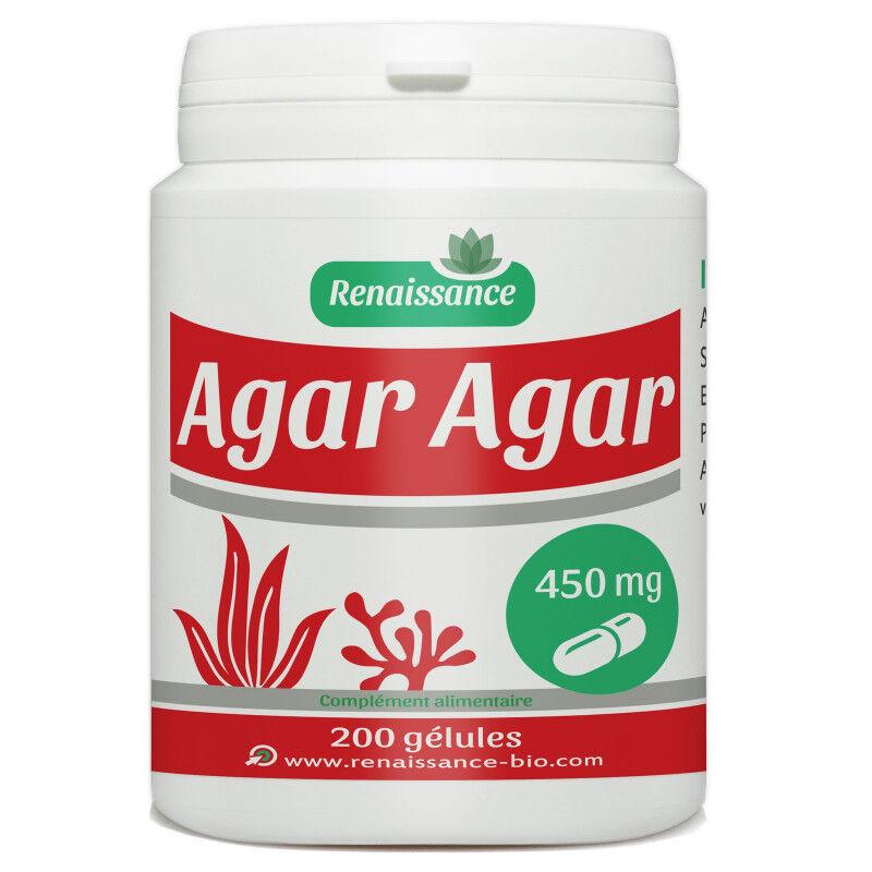 Renaissance Bio Agar Agar - 450 mg - 200 gélules