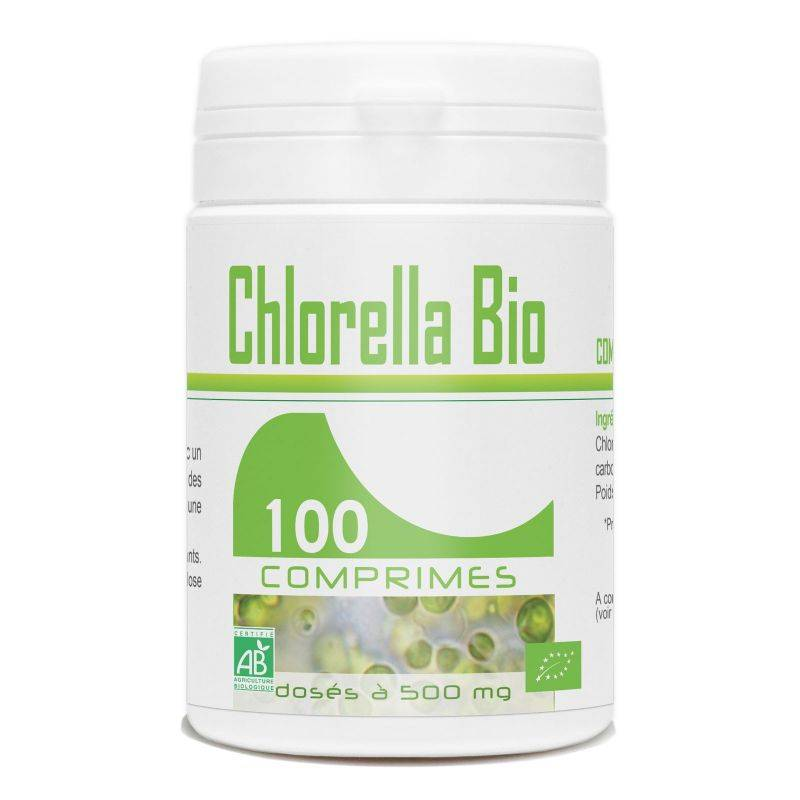 GPH Diffusion Chlorella Bio - 500 mg - 100 comprimés