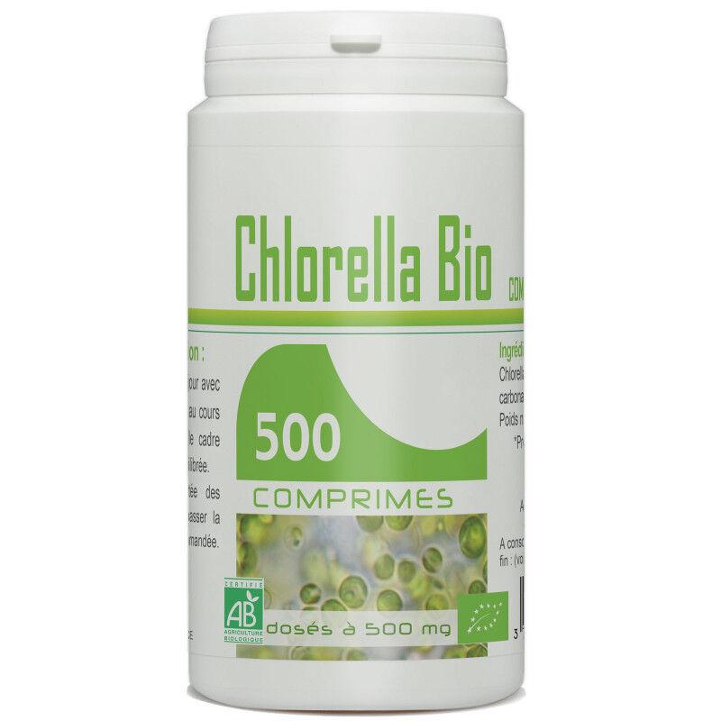 GPH Diffusion Chlorella Bio - 500 mg - 500 comprimés