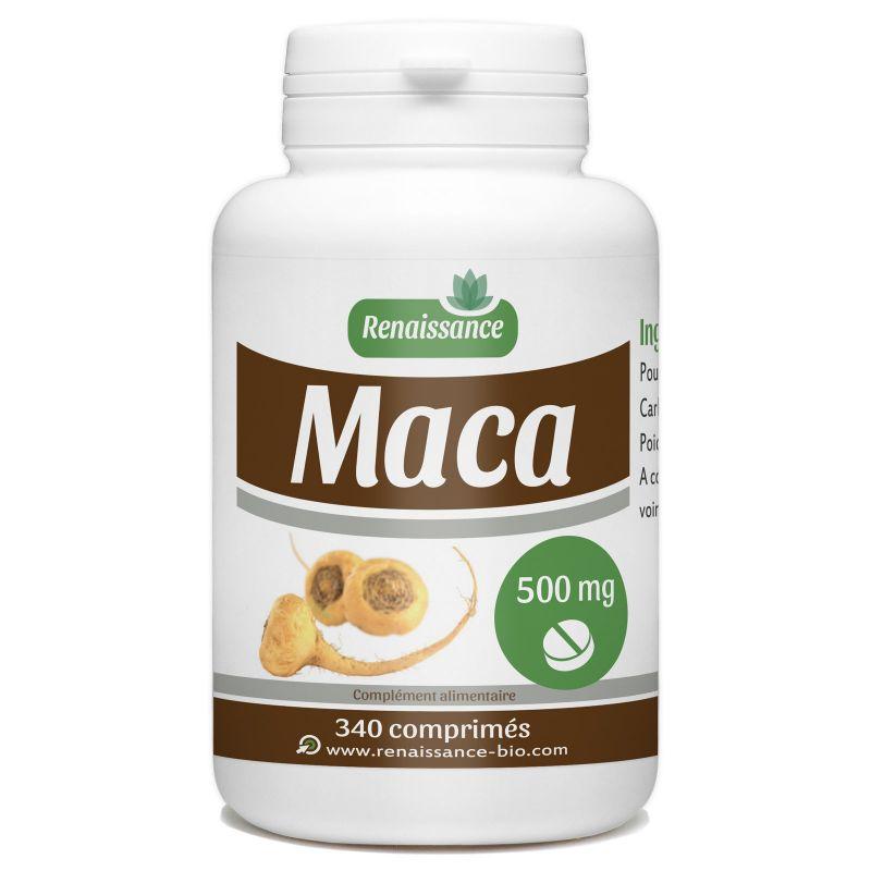 Renaissance Bio Maca - 500 mg - 340 comprimés