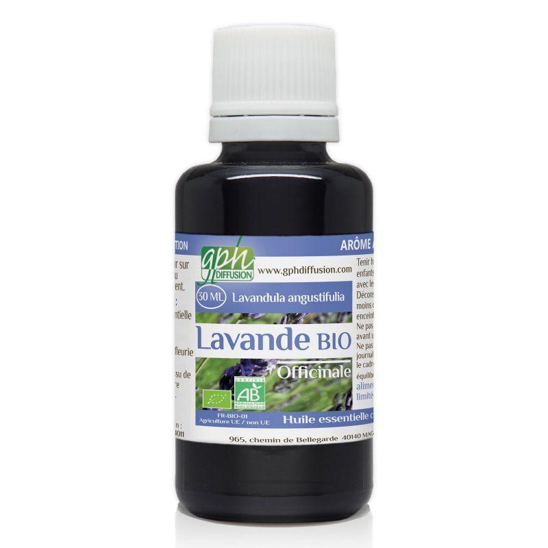 GPH Diffusion Huile Essentielle de lavande officinale Bio - 30 ml