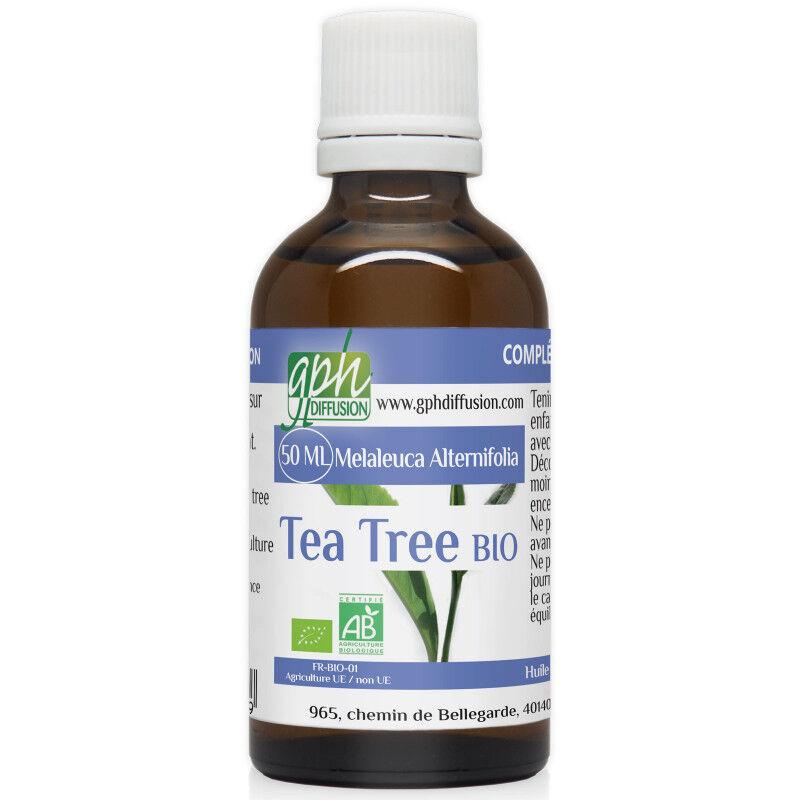 GPH Diffusion Huile Essentielle de Tea Tree Bio - 50 ml