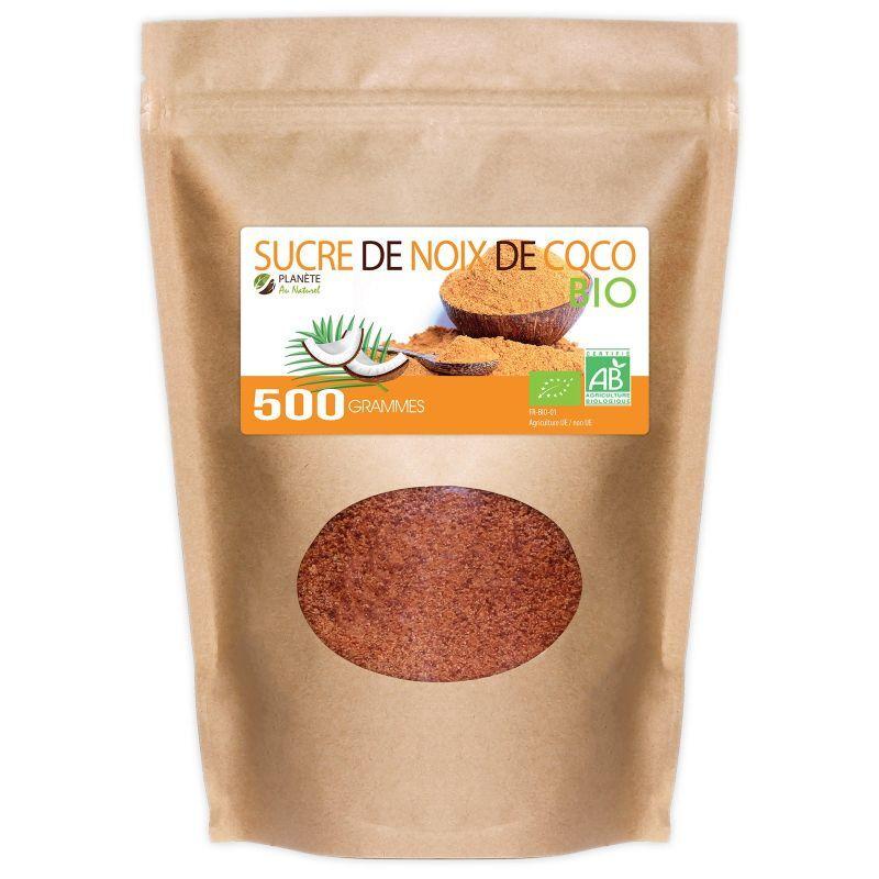 Planète au Naturel Sucre de Coco Bio - 500 g