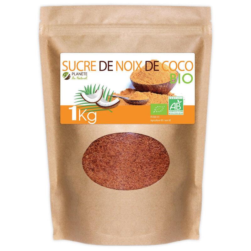 Planète au Naturel Sucre de Noix de Coco Bio - 1 kg