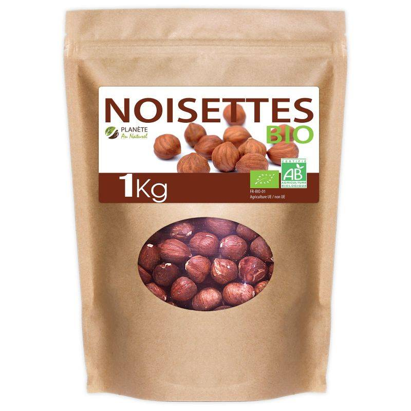 Planète au Naturel Noisettes Bio - 1kg