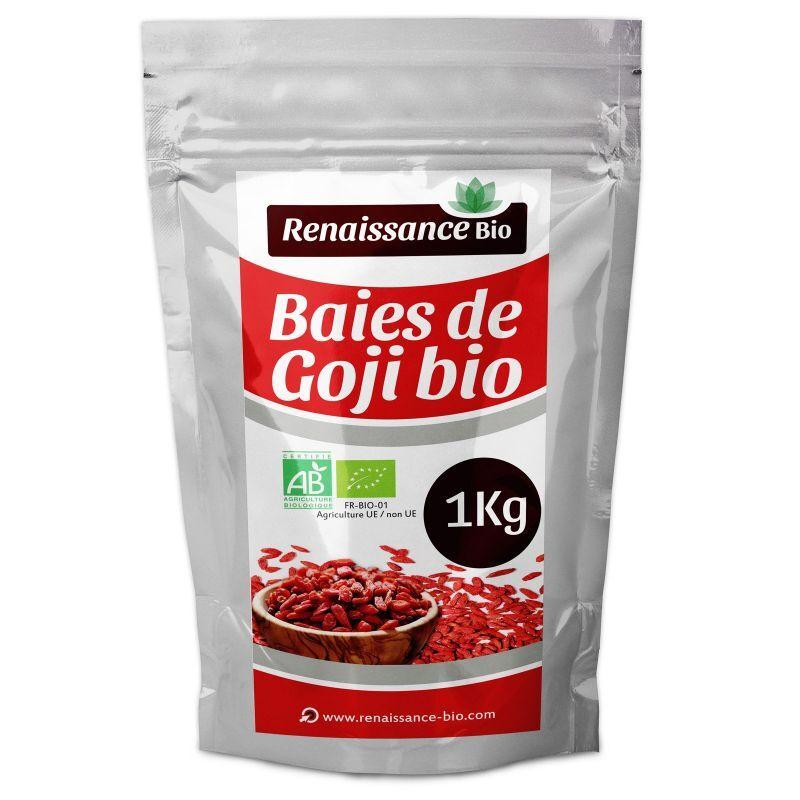 SANS PROMO Baies de Goji Biologique - 1 kg