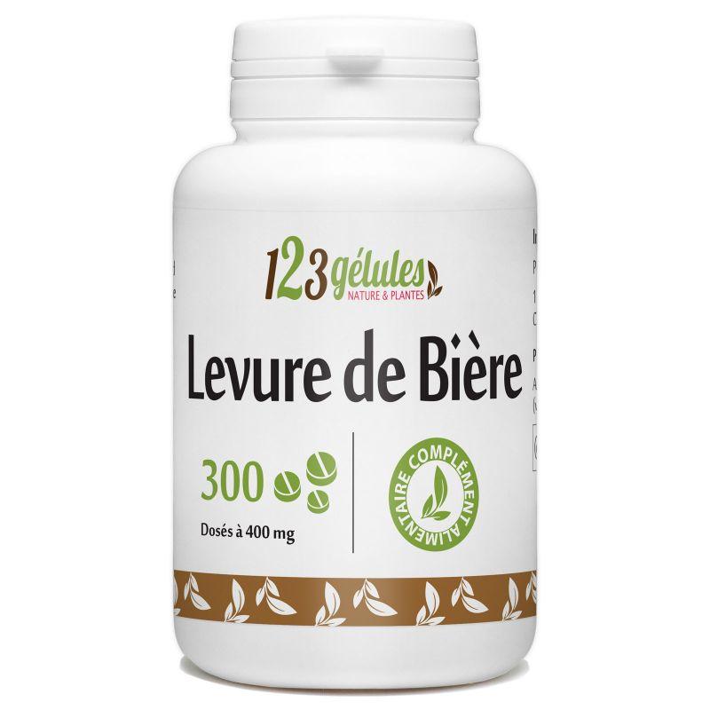 123gelules Levure de Bière - 400 mg - 300 comprimés