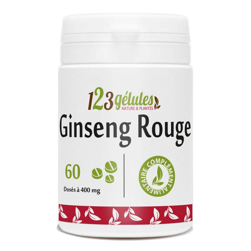 123gelules Ginseng rouge - 400 mg - 60 comprimés