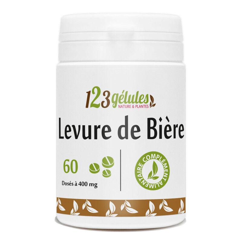 123gelules Levure de Bière - 400 mg - 60 comprimés