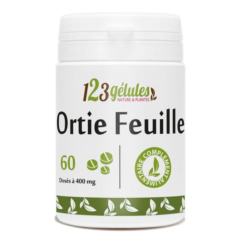 123gelules Ortie feuille - 400 mg - 60 comprimés