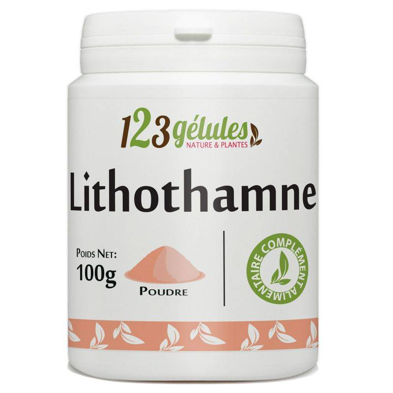123gelules Lithothamne - 100 g de poudre