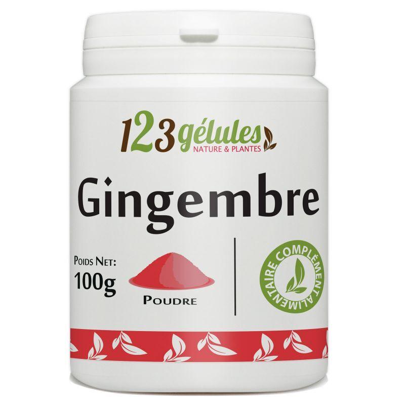 123gelules Gingembre- 100 g de poudre
