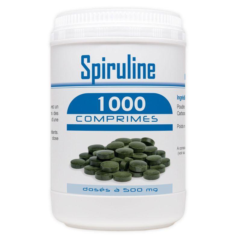 GPH Diffusion Spiruline - 500 mg - 1000 comprimés