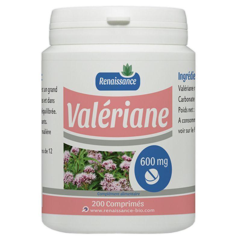 Renaissance Bio Valériane - 600 mg - 200 comprimés