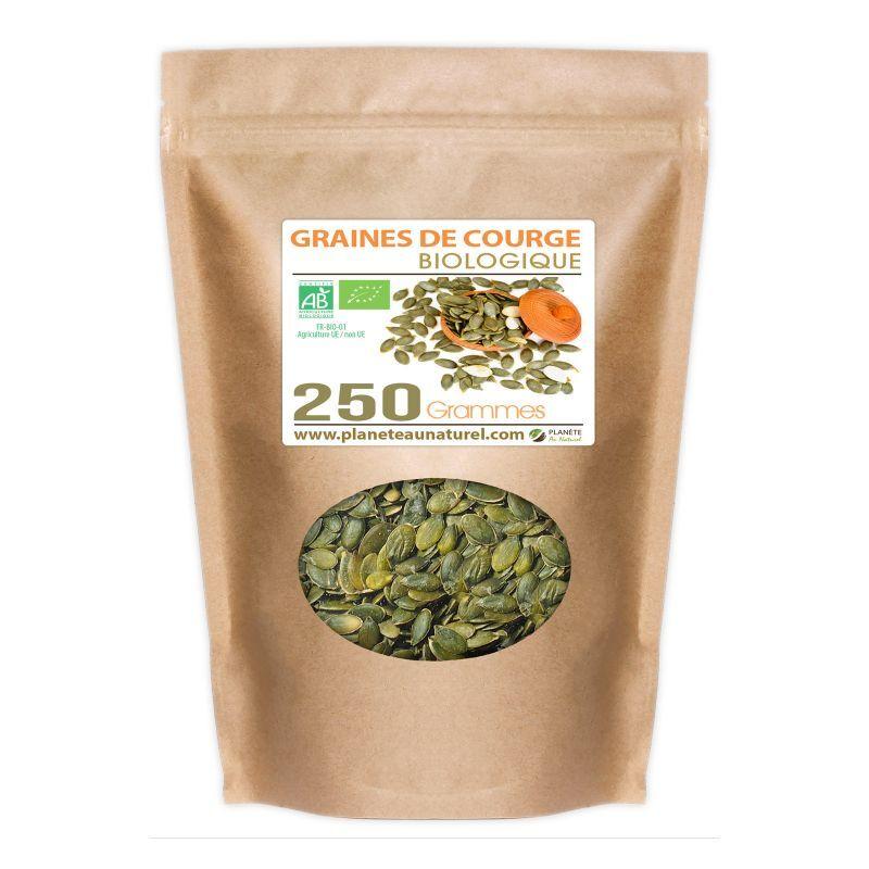 Planète au Naturel Graines de Courge Bio - 250 g
