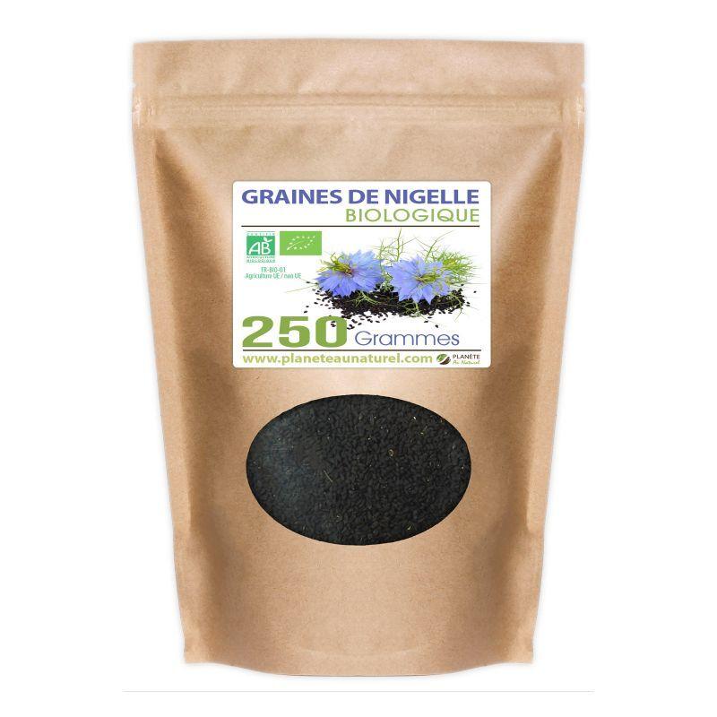 Planète au Naturel Graines de Nigelle Bio - 250 g