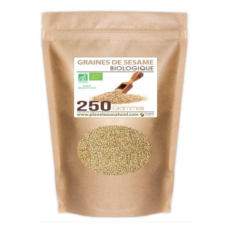 Planète au Naturel Graines de Sésame Bio - 250 g