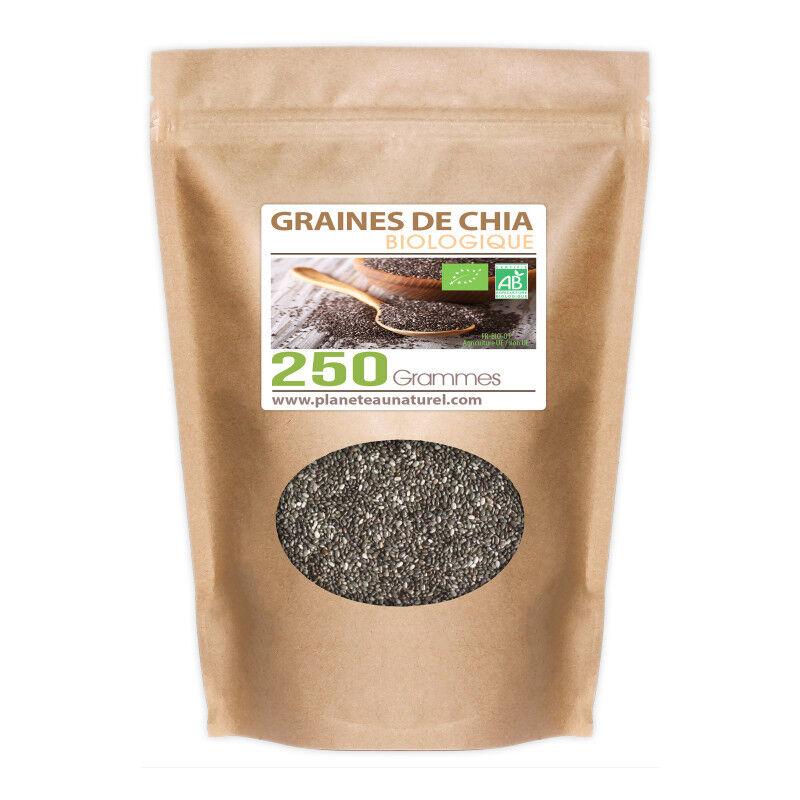 Planète au Naturel Graines de Chia Bio - 250 g