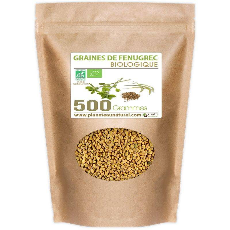 Planète au Naturel Graines de Fenugrec Bio - 500 g