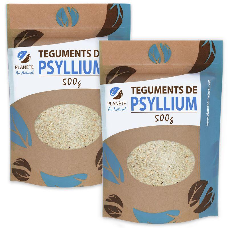 GPH Diffusion Psyllium Blond Téguments 1 kg - 500 g x 2